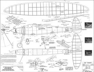 Yankee model airplane plan