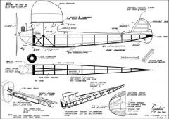 Yankee Sal Taibi model airplane plan