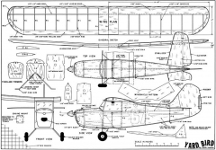 Yardbird clearer model airplane plan