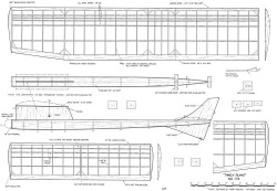Yeeha FF 44in model airplane plan