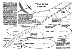 Yellow Bird model airplane plan