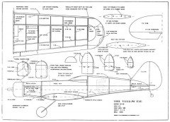 Yellow Kid model airplane plan