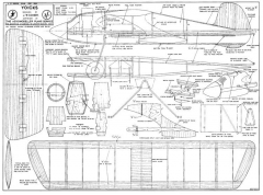 Yoicks model airplane plan