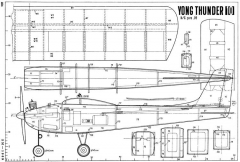 Yong Thunder 10 model airplane plan