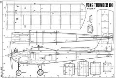Yong Thunder 10 model airplane plan