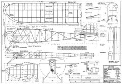 Ysvogel model airplane plan