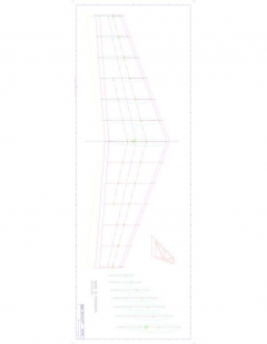 Zagi 12 Model 1 model airplane plan