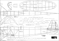 Zenith model airplane plan