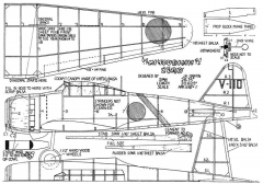 Zero 2 model airplane plan