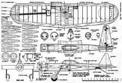 Zero-ette model airplane plan