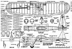 Zero-ette model airplane plan