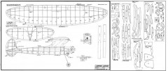 Zipper Junior model airplane plan
