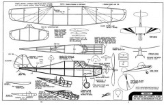 Zippy model airplane plan