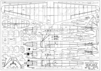 Zlin 212 47in model airplane plan