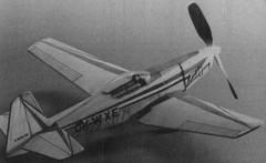 Zlin 526 AS model airplane plan