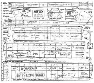 Zoot Suit model airplane plan