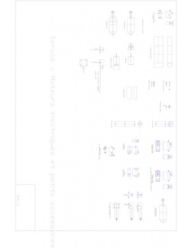 accessoires Model 1 model airplane plan
