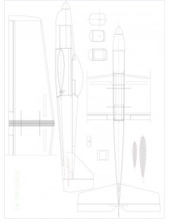 acrofovic 40 Model 1 model airplane plan