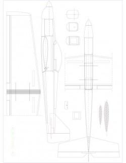 acrofovic 40 Model 1 model airplane plan