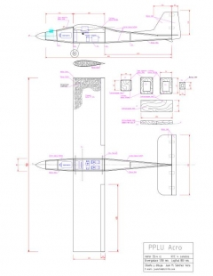 Acrowmf model airplane plan