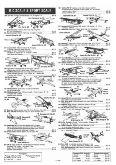airborne scale model airplane plan