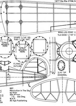 airexpress2 model airplane plan
