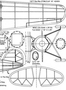airexpress3 model airplane plan