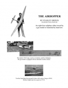 airhopper model airplane plan