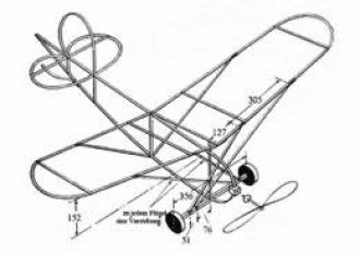 airpl04 model airplane plan
