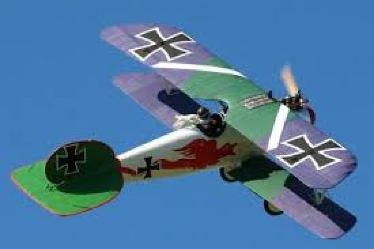Albatros D-5A model airplane plan