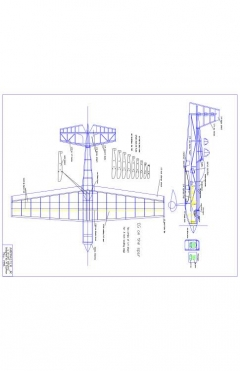 AMP JR Model 1 model airplane plan