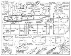 amphibian model airplane plan