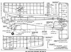 Apache model airplane plan