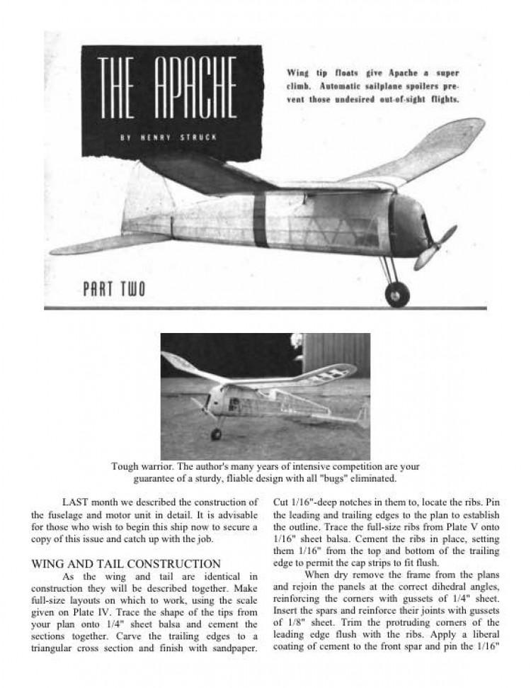 apachiept2 model airplane plan