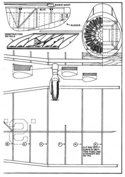 attack p4 model airplane plan