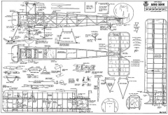 Avro 504K model airplane plan