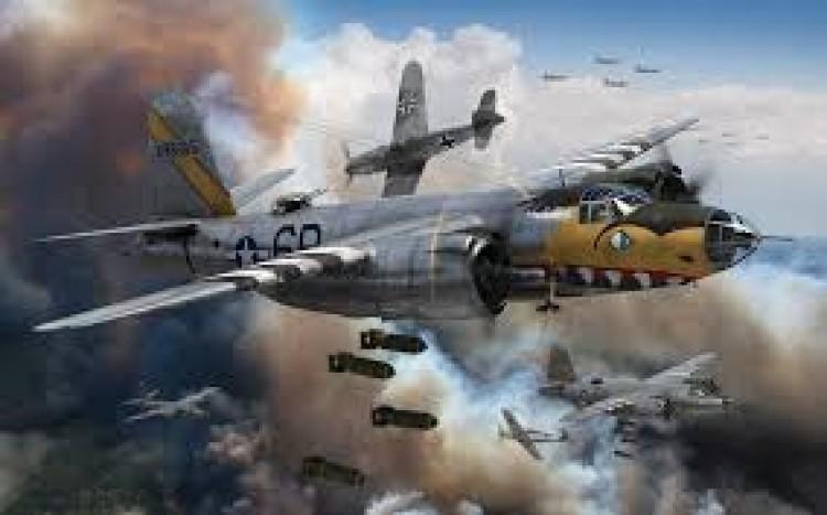 Martin B-26 model airplane plan
