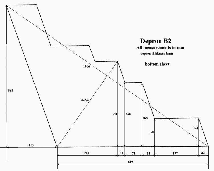 B2 Spirit p1 model airplane plan