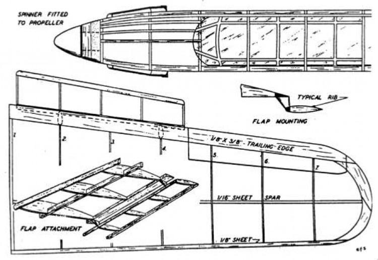 barp2 model airplane plan