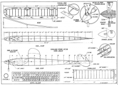 Beaumont Sticker p1 model airplane plan