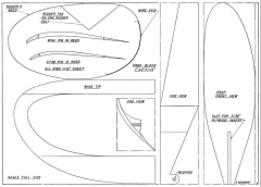 Beaumont Sticker p2 model airplane plan