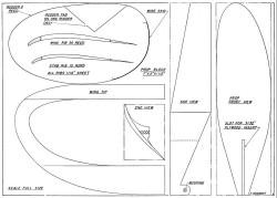 Beaumont Sticker p2 model airplane plan