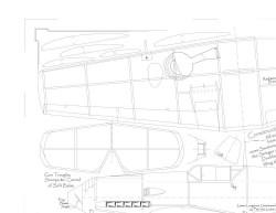 bf 109 E4 model airplane plan