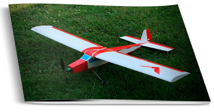 BILOUTE model airplane plan