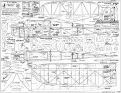 BlackMagic model airplane plan