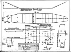 Bloomingdale Winner p1 model airplane plan
