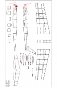 bobcat Model 1 model airplane plan