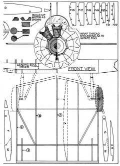 Boeing XP-940 p4 model airplane plan