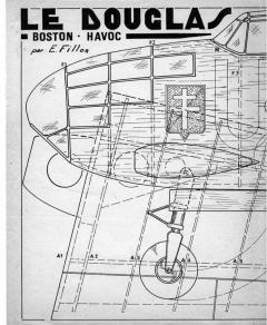boston havoc model airplane plan