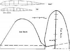 BREW2 model airplane plan